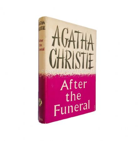 After the Funeral by Agatha Christie First Edition Collins The Crime Club 1953